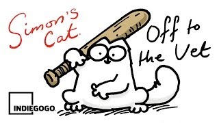 Simon's Cat 'Off to the Vet' Fundraising Campaign on Indiegogo!