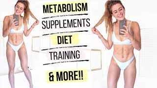 HOW I GET LEAN FOR SUMMER!    EVERYTHING EXPLAINED