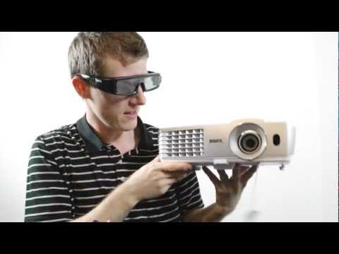 BenQ W1070 3D Gaming & Movie Projector Unboxing & First Look Linus Tech Tips