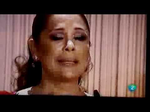 Isabel Pantoja Galardonada cor el premio de honor de la musica