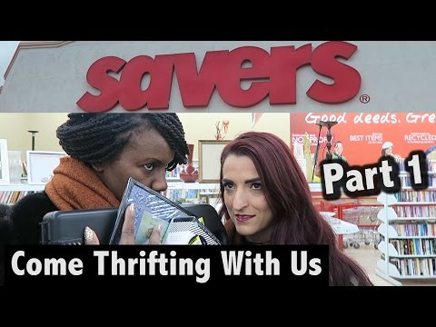Knick Knacks, Office Supplies & More at Savers Part 1 |Come Thrifting With Us|#ThriftersAnonymous