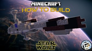 How To Build A Droid Control Ship In Minecraft