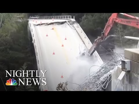 After Landslides, California's Big Sur Facing Tough Tourist Season | NBC Nightly News