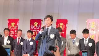 2017社台グループ謝恩会 武豊騎手の挨拶