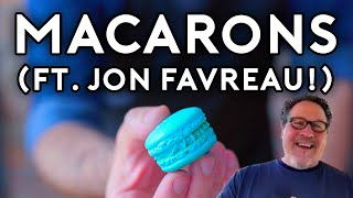 Binging with Babish: Macarons from The Mandalorian (ft. Jon Favreau!)