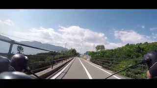 On August the 3rd, three friends set off to ride Japan from Chitose...