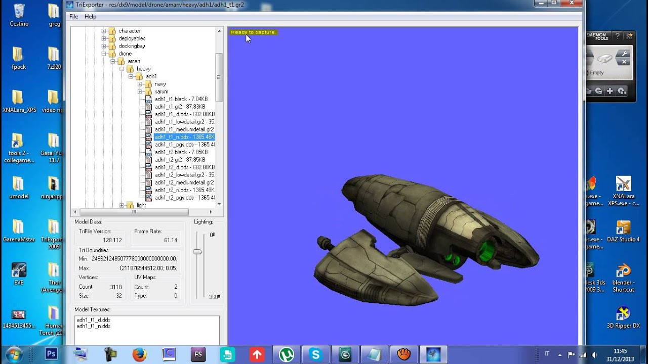 EXTRACT AND CONVERT FROM EVE ONLINE