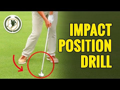 Golf Swing (IMPACT POSITION) Drills For Deadly ACCURACY!