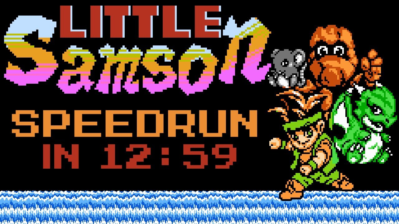 Little Samson in 11:59 (Speedrun)