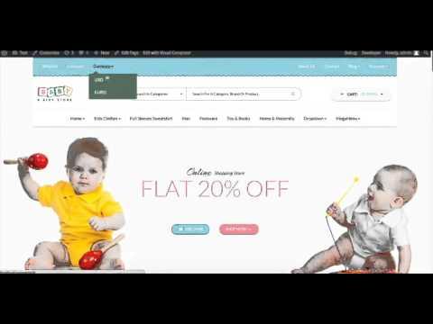BabyStore Wordpress Tutorial