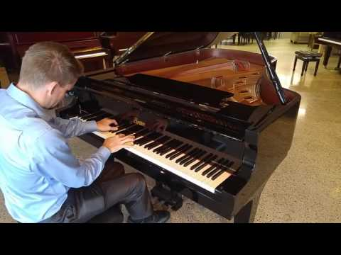 Onward Christian Soldiers. Boston GP 215  7' Grand Piano