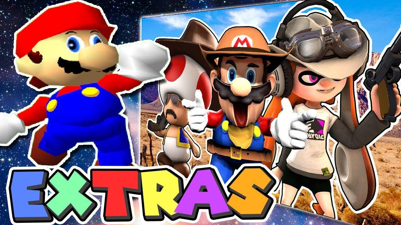 Mario's EXTRAS: Wild, Wild Mario