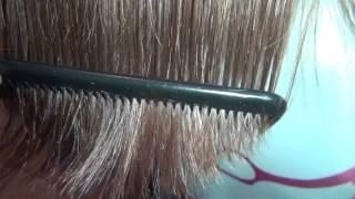 Волосы после стрижки горячими ножницами