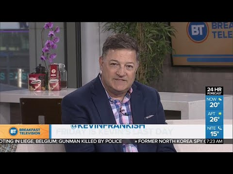 Kevin Frankish Announces Departure From Breakfast Television, To Host Documentary Series On City