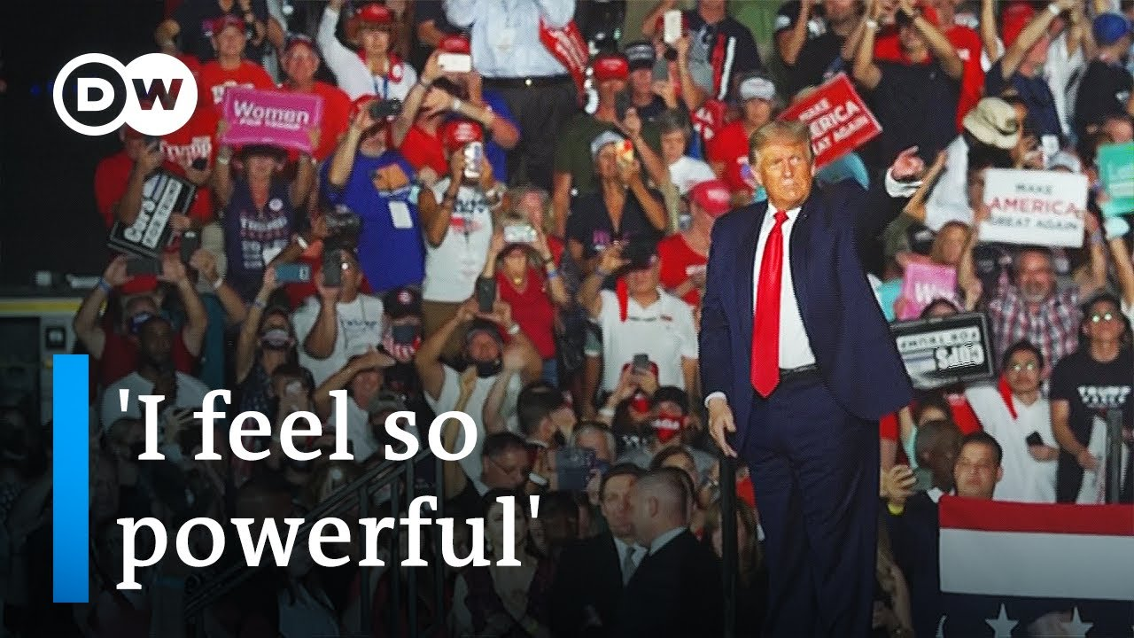 Download Trump boasts of COVID immunity at first rally since diagnosis | DW News