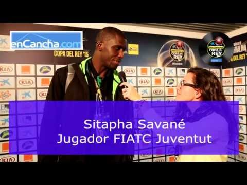 Sitapha Savan� - Cuartos de Final Copa del Rey 2015 - 20/02/2015