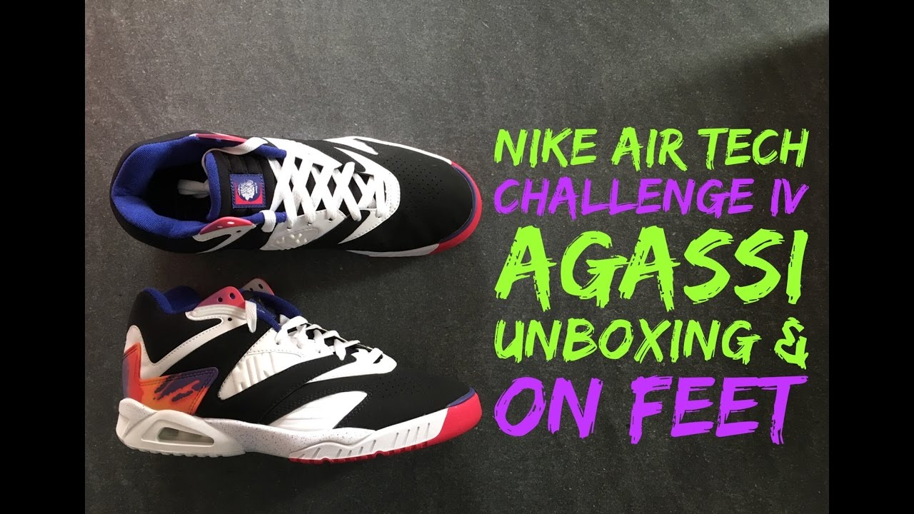 Nike Air Tech Challenge IV  Agassi   ac632cd630