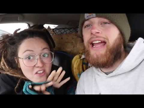 TRAVEL VLOG   Living in a car   Missouri to California