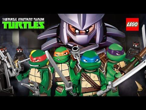 Lego Teenage Mutant Ninja Turtles: Shell Shocked (High-Score Gameplay)