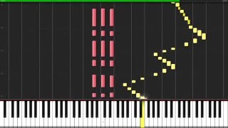 Für Elise - Ludwig van Beethoven [Piano Tutorial] (Synthesia)