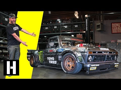 Ken Block's Hoonitruck: Twin Turbo, AWD, 914hp, and Ready to Party in Gymkhana TEN