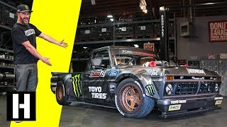 Download Ken Block's Hoonitruck: Twin Turbo, AWD, 914hp, and Ready to Party in Gymkhana TEN Mp3 and Videos