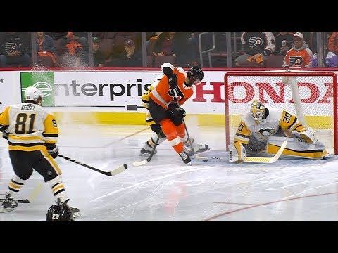 Sean Couturier pulls off amazing deke for dazzling goal