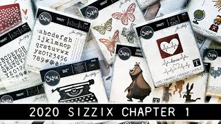 2020 TIM HOLTZ SIZZIX CHAPTER 1