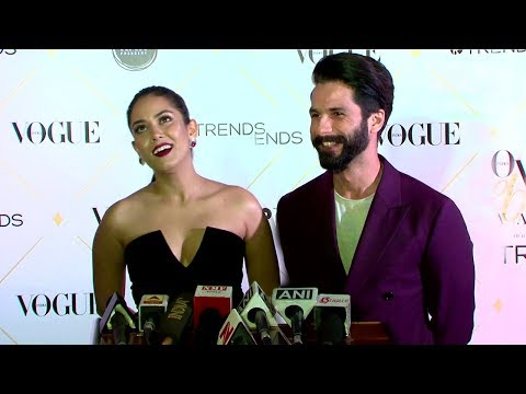 Shahid Kapoor & Wife Mira Rajput's FIRST Interview Together In Public