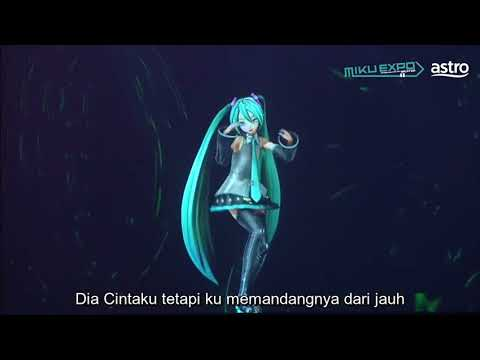 [Lyric Video] Hatsune Miku Ft Zizan Chentaku [MIKUEXPOMY17] HD