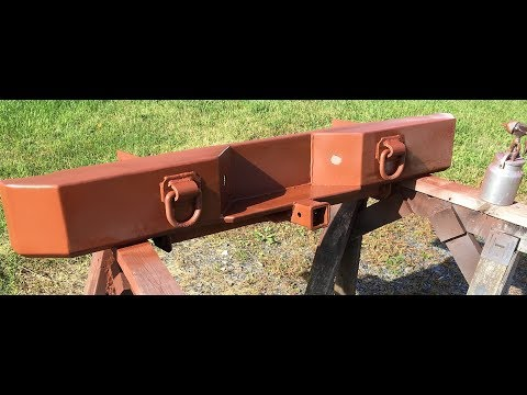 Rear Truck Bumper Build