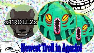 Kraken Skin & Name Trolling // Unique Troll - Agar.io