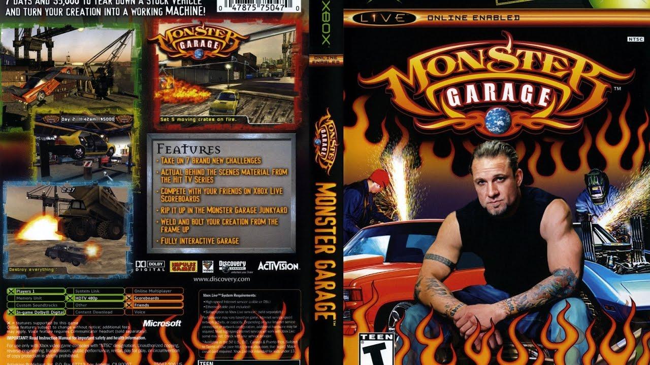 Monster garage download (2004 simulation game).