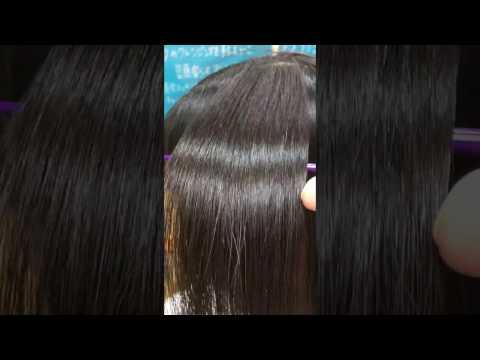 東大宮の美容院、ツヤ髪美容室プレジールのツヤツヤ柔らか矯正