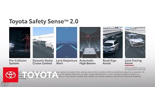 Toyota Safety Sense 2.0 Lane Tracing Assist (LTA) | Toyota