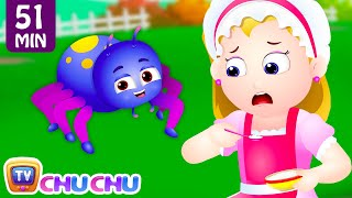 little miss muffet and many more nursery rhymes kids songs collection   chuchu tv