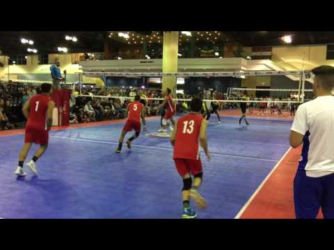 ROQUE NIDO #15 VOLLEYBALL SETTER JEEP CHAMPIONSHIPS PUERTO RICO 2017