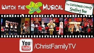 Christmas County Spelling Bee Cfc Kids Youtube