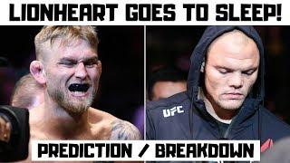 Alexander Gustafsson vs Anthony Smith Full Fight Prediction and Breakdown Fight Night 153 ESPN+ 11