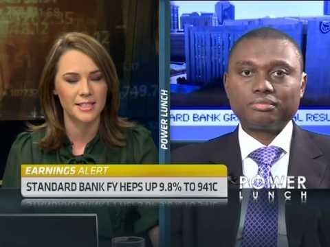 Standard Bank's full year earnings with Sim Tshabalala