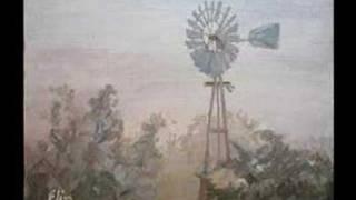 December 16 - Windmill in Morning Fog Painting