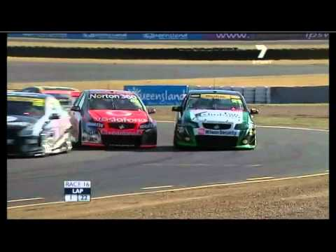 V8 2011 Event 8 (Ipswich) Race 16 Highlights