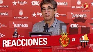 Rueda de prensa de Fernando Vázquez tras el RCD Mallorca vs Reus (1-0)