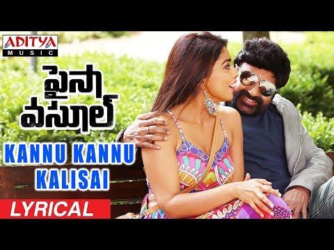 Kannu Kannu Kalisai Lyrical | Paisa Vasool | Balakrishna, Shriya |Puri Jagannadh | Anup Rubens