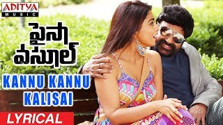 Kannu Kannu Kalisai Song Lyrics Video HD Paisa Vasool | Balakrishna, Shriya |Puri Jagannadh