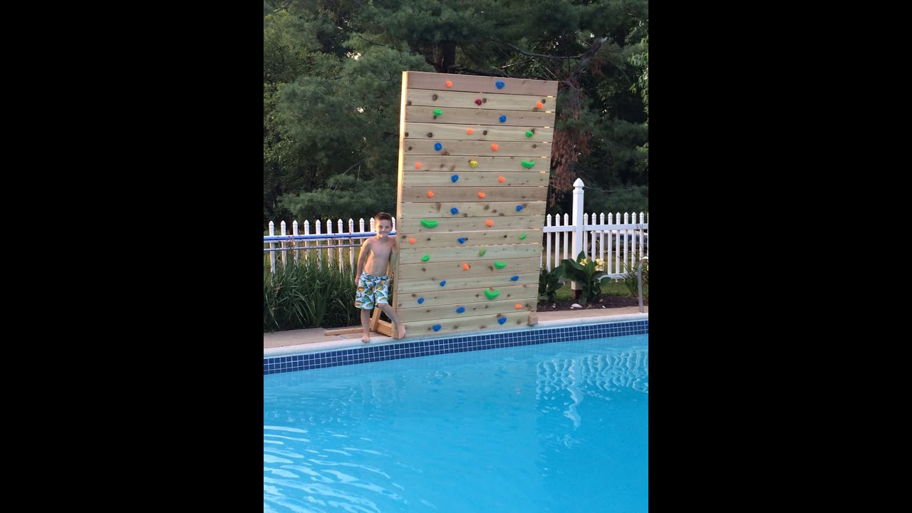 Build A Rock Climbing Wall
