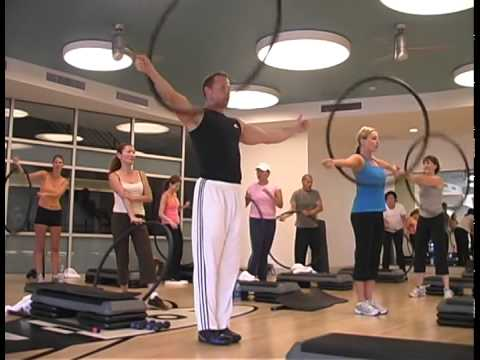 Equinox And Kyle Neven Promo For Gyromania... Weighted Hula Hoop Workout