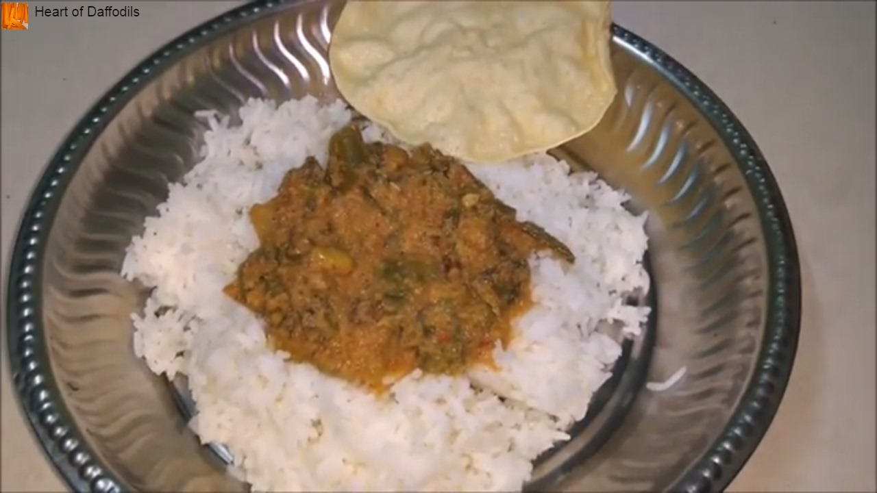 how to make curry beans