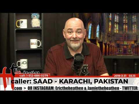 Koran contains scientific evidence for god | Saad - Karachi, Pakistan | Talk Heathen 03.13