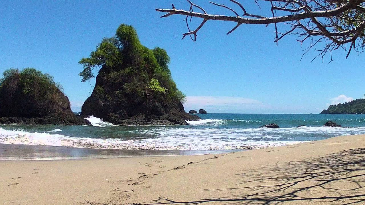One Minute Of Surf At Manuel Antonio Beach Costa Rica